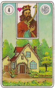 O significado da carta 4, a Casa, no Baralho Cigano