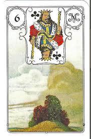 O significado da carta 6, as Nuvens, no Baralho Cigano