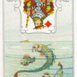 O significado da carta 34, o Peixe, no Baralho Cigano