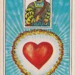 O significado da carta 24, o Coração, no Baralho Cigano