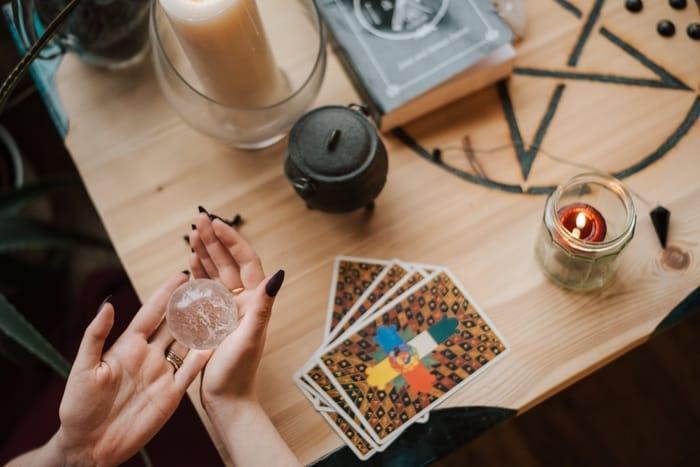 Cartas de Tarot na espiritualidade